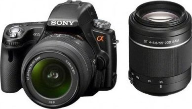 Sony Alpha SLT-A55V Kit