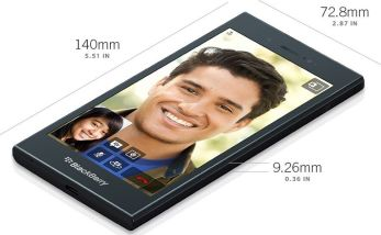 Blackberry Z3 Design and Display