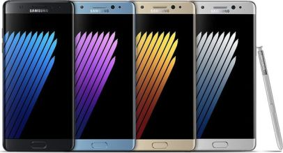 Samsung Galaxy Note 7 Design and Display