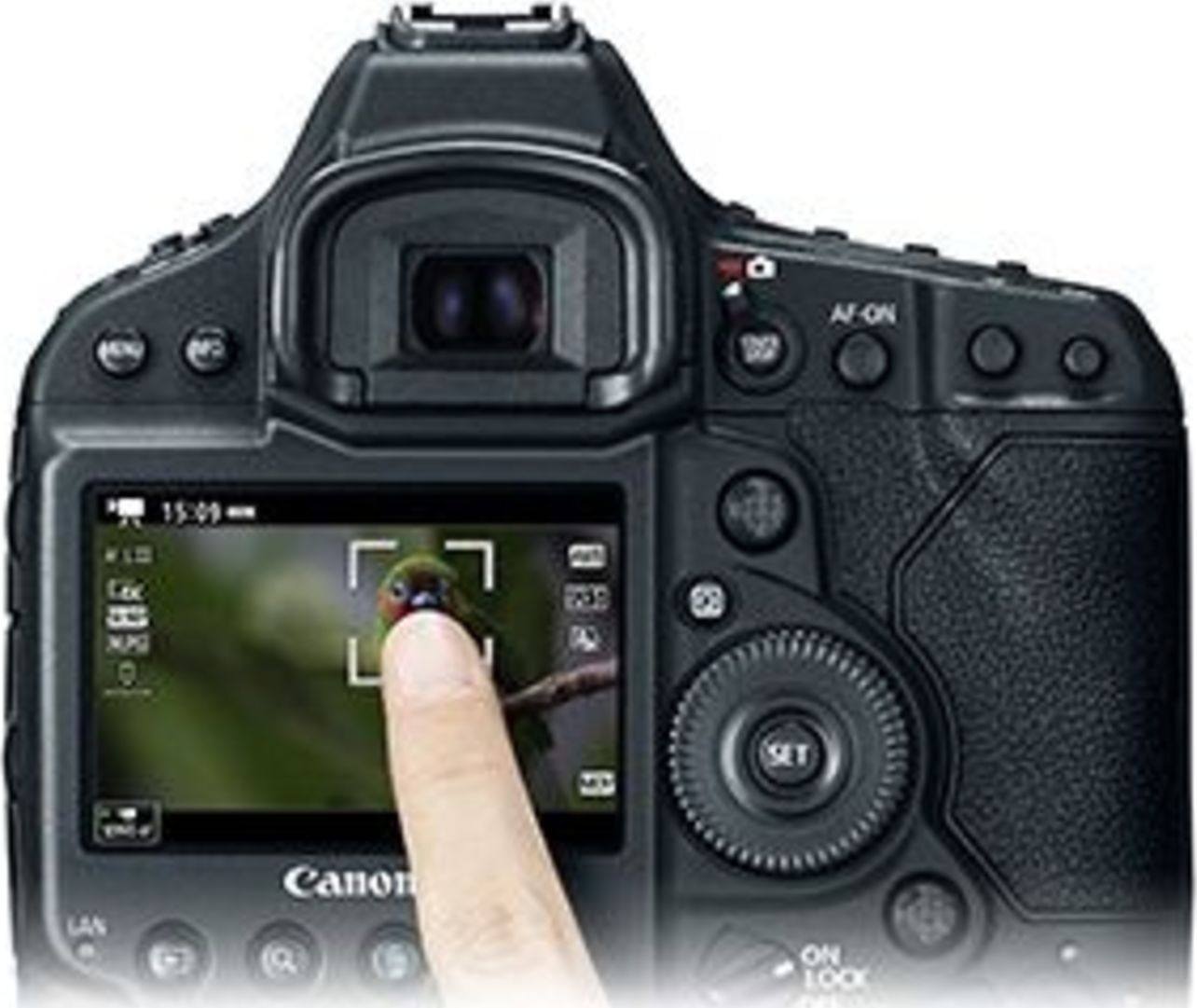 Canon EOS 1D X Mark II Display
