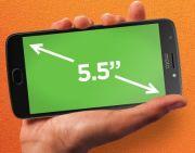 Moto E4 Plus Design and Display