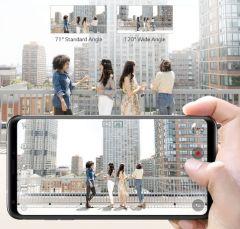 LG V30 Plus Dual-Camera Setup