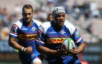 FILE: Nizaam Carr drives the Stormers attack forward. Picture: @THESTORMERS/Twitter
