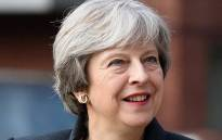 FILE: British Prime Minister Theresa May. Picture: @TheresaMayOfficial/Facebook.com.