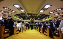 A joint sitting of Parliament in the National Assembly. Picture: GCIS