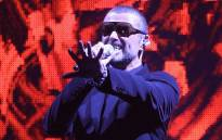 British singer George Michael performs on stage during his European tour, 'Symphonica' at the Palais Nikaia in the French Riviera city of Nice on 22 September 2011. Picture: AFP