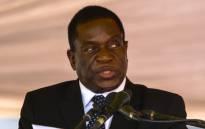FILE: Zimbabwean president Emmerson Mnangagwa. Picture: AFP.