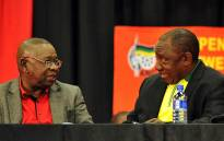 FILE: South African Communist Party (SACP) General Secretary Blade Nzimande and African National Congress (ANC) President Cyril Ramaphosa. Picture: GCIS