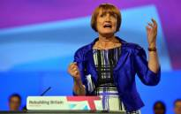 FILE: Shadow Secretary of State for London and the Olympics Tessa Jowell gestures as she speaks during a retrospective look at the 2012 Olympics on the third day of the annual Labour Party Conference in Manchester, north-west England, on October 2, 2012. Picture: AFP.