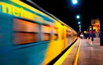 FILE: A general view of a train leaving a Cape Town station. Picture: Facebook.com.