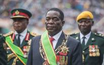 Zimbabwean President Emmerson Mnangagwa looks on after he was officially sworn-in during a ceremony in Harare on 24 November 2017. Picture: AFP