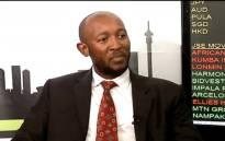 FILE: A YouTube screengrab of suspended Denel CFO Odwa Mhlwana