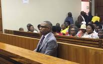 FILE: Former Higher Education Deputy Minister Mduduzi Manana at the Randburg Magistrates Court on 13 November 2017 for sentencing in his assault case. Picture: Hitekani Magwedze/EWN