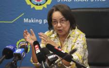 FILE: Cape Town Mayor, Patricia de Lille addresses the media at a briefing regarding the drought in Cape Town. Picture: Cindy Archillies/EWN