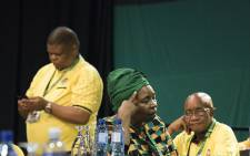 Nkosazana Dlamini Zuma after the announcement of the ANC's new top 6 on 18 December 2017. Picture: Sethembiso Zulu/EWN