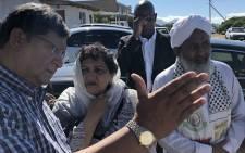 ANC deputy secretary-general Jessie Duarte (centre) at the Sheikh Yusuf Kramat in Macassar near Cape Town on 11 February 2018. Picture: Bertram Malgas/EWN
