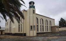 The Malmesbury mosque where an armed attacker murdered two men and assaulted others during morning prayer. Picture: Cindy Archillies/EWN