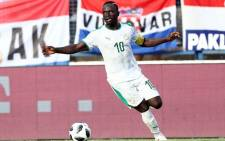 Senegal's Sadio Mane during his team's international friendly against Croatia at Stadion Gradski in Croatia on 8 June 2018. Picture: Reuters.