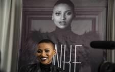 Award-winning musician Zonke Dikana speaks about her new album 'L.O.V.E'  Picture: Kayleen Morgan/EWN