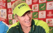 Springbok captain Jean de Villiers. Picture: Supplied