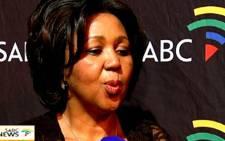 SABC board chairperson Ellen Tshabalala. Picture: SABC.