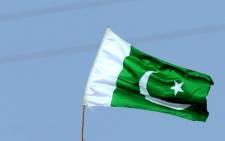 Pakistan flag. Picture: AFP.