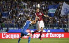 AC Milan's Fernando Torres in action. Picture: Facebook.
