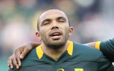 The 31-year-old Bryan Habana will become the fourth Springbok and 33rd player overall to play in 100 Tests. Picture: Reinart Toerien/EWN.
