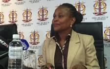 FILE: Public Protector advocate Busisiwe Mkhwebane. Picture: Gia Nicolaides/EWN.