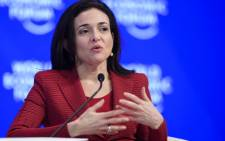 FILE: Facebook's Chief Operating Officer Sheryl Sandberg. Picture: AFP.