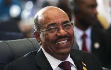 Sudanese President Omar al-Bashir. Picture: AFP.