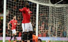 Manchester United forward Romelu Lukaku will be in action against Bournemouth. Picture: Facebook.