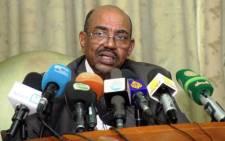 FILE. Sudanese President Omar al-Bashir. Picture: AFP