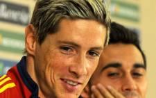 Spain's Fernando Torres. Picture: AFP