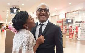 Business tycoon Romeo and his media mogul wife Basetsana Kumalo. Picture: Facebook.com.