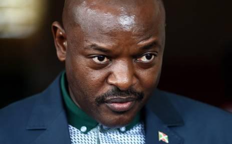Burundi's President Pierre Nkurunziza. Picture: AFP.