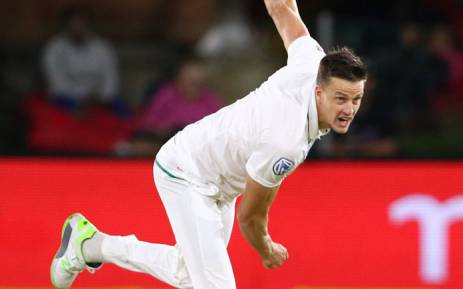 Proteas fast bowler Morne Morkel delivers a quick one. Picture: @OfficialCSA/Twitter