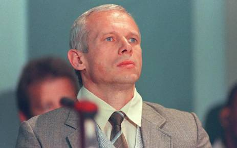FILE: Janusz Walus at a hearing in the Pretoria City Hall on 11 August 1997. Picture: AFP.