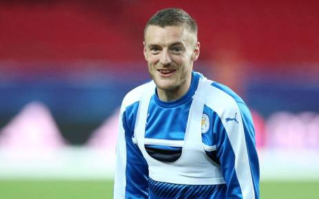 FILE: Leicester City forward Jamie Vardy. Picture: Facebook