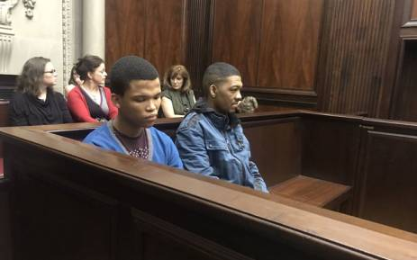 FILE: Nigel and Johaness Plaaitjies in the Western Cape High Court on 4 December 2017. Picture: Shamiela Fisher/EWN