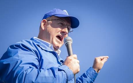 The DA's mayoral candidate for Nelson Mandela Bay, Athol Trollip. Picture: Aletta Harrison/EWN.