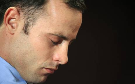 Oscar Pistorius appearing in the Pretoria Magistrates Court for a bail hearing on 22 February 2013. Picture: AFP