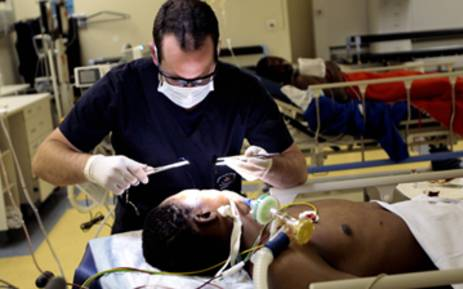 Doctors had to perform surgeries by the light of cell phones at the Chris Hani Baragwanath Hospital.