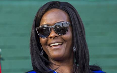 FILE: Former Zimbabwe first lady Grace Mugabe attends the opening of the annual agricultural fair on 25 August 2017 in Harare. Picture: AFP