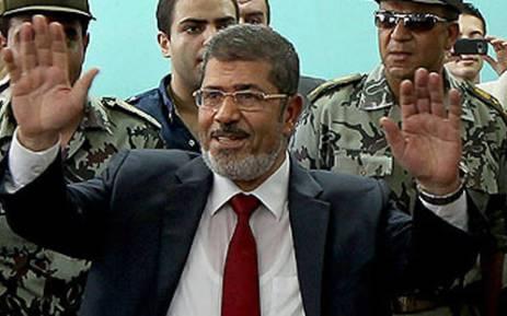 Egypt President Mohammed Mursi. Picture: AFP