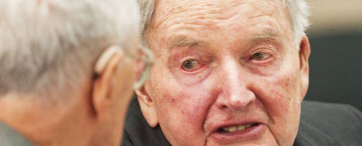 FILES: This file photo taken on 12 May 2010 shows David Rockefeller attending the 40th Washington Conference on the Americas David Rockefeller, the banker and philanthropist with the fabled family name who controlled Chase Manhattan bank for more than a decade died on 20 March 2017. He was 101. Picture: AFP