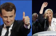 Marine Le Pen and opponent Emmanuel Macron battle it out for French presidency