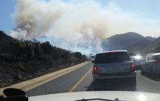 Wildfires spreading across Helderberg Basin