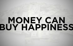 Money CAN make you happy (but only if you don't buy stuff with it)