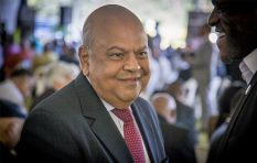 Gordhan still man of the moment at WEF - Stephen Grootes